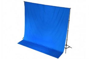 Chroma Blue Drape