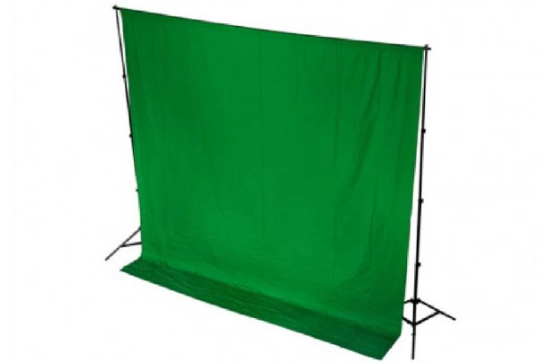 Lighting_0006_Chroma Green Drape